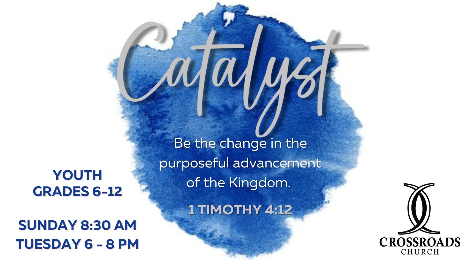 Catalyst youth logo